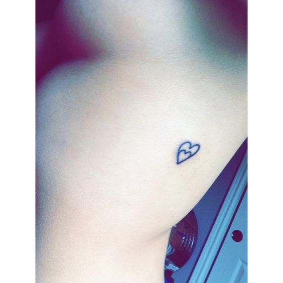 Miscarriage tattoo. You'll always be in my heart. I never met you but will always love you.: