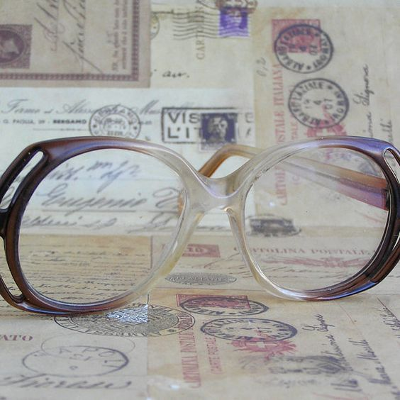 c. 1970 vintage glasses...  accessories  Mar 24 by CoolVintage, $16.50