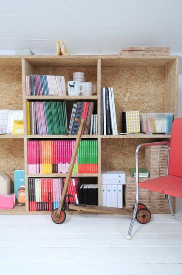 armário para os livros e afins