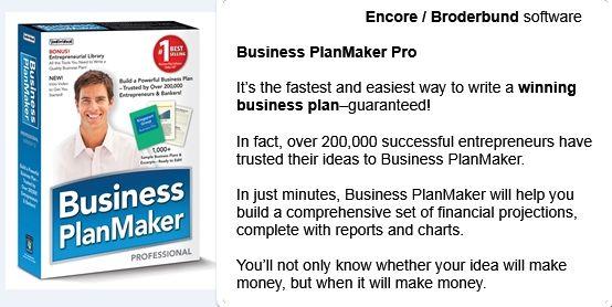Business PlanMaker Pro ...