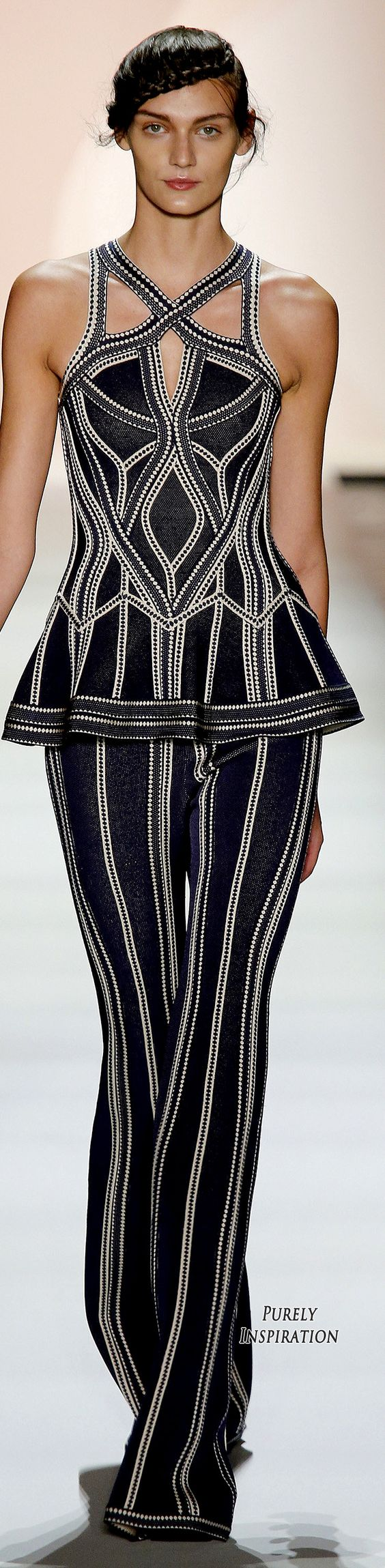 Hervé Léger by Max Azria SS2016 Women's Fashion RTW | Purely Inspiration: