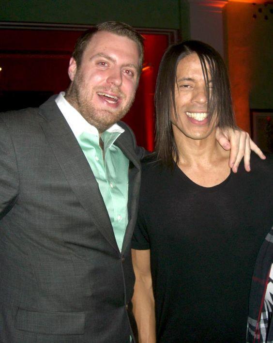 """YP Julius und Jorge """"Laufcoach"""" Gonzalez auf der Wetten Dass! Aftershowparty Nov. 2012 #GNTM"""