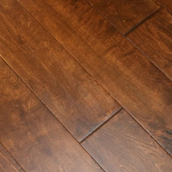 Birch Smoky Brown 3 8 X 6 1 2 Hand Scraped Engineered Hardwood Flooring Weshipfloors Wood Floors Wide Plank Hardwood Floors Floors Wood Hardwood