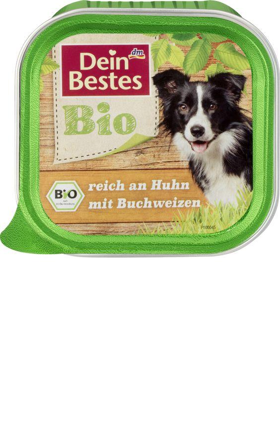 Bio reich an Huhn mit Buchweizen, für Hunde