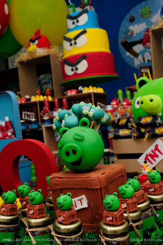 Angry Birds Birthday Party - Kara's Party Ideas - The Place for All Things Party: