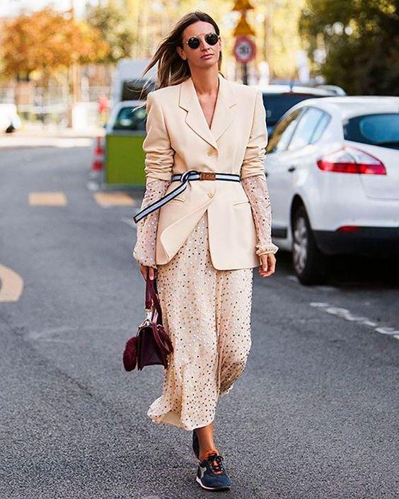 Blazer + Vestido= El Nuevo Uniforme De La Working Girl – Cut & Paste – Blog de Moda