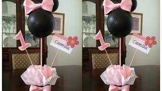 Decoração Festa Infantil Minnie Rosa - ZapMeta Video