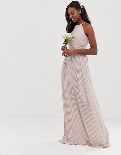 New Bridesmaid Dresses From Asos Dress For The Wedding Asos Bridesmaid Dress Pleated Maxi Dress Maxi Bridesmaid Dresses