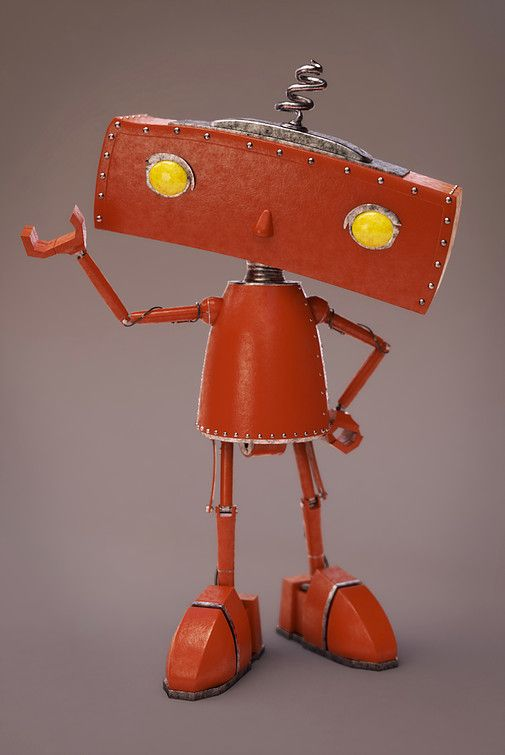 Bad Robot - Maya, V-Ray