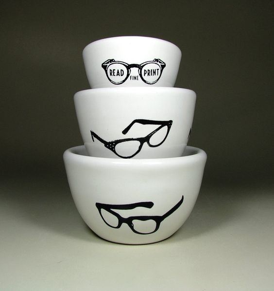 The Urban Set of Spectacles Made to Order by CircaCeramics