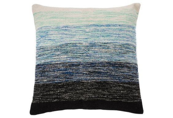 Ombré 18x18 Cotton Pillow. Multi