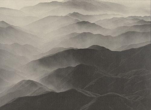 Margaret Bourke-White. Sierra Madre Mountains, California 1935