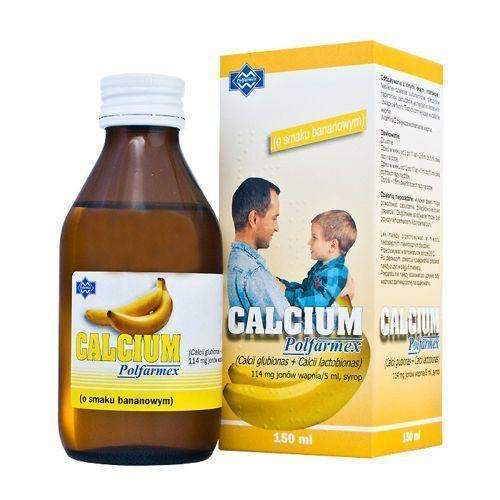 Calcium Syrup 150ml Banana Children 4 Months Persistent Cough Calcium Good Foods To Eat