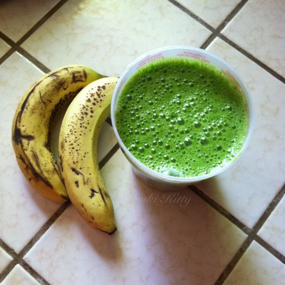 Spinach Banana Smoothie Recipe