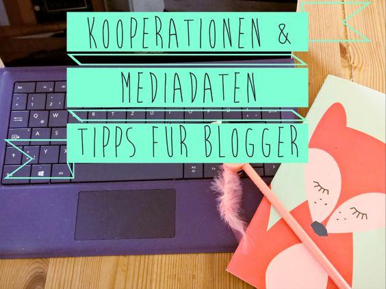 Kooperationen & Mediadaten – Tipps für Blogger