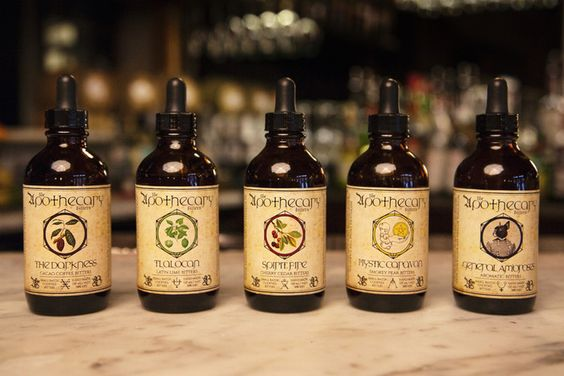 Bitters! A great addition to cocktails, soda water, or even tea! This company makes hand made batches with quality ingredients.