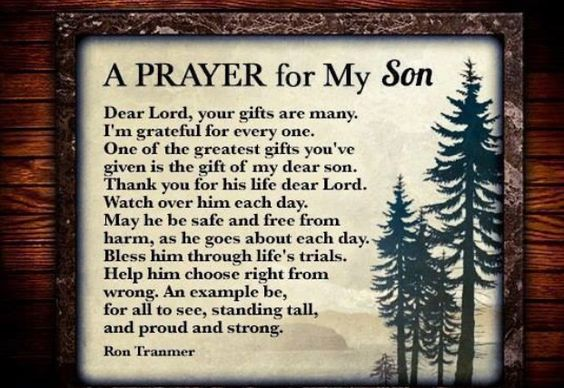A Prayer For My Son(s)