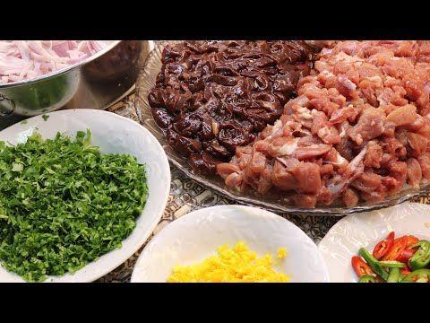 طريقة الكبده واللحم المقلقل على الصاج مع طريقة التقطيع على الطريقه اليمنيه Youtube Yemeni Food Cooking Recipes Cooking