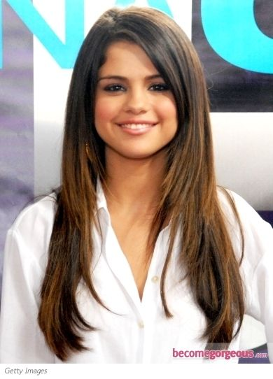 Face Hair Hair With Layers And Selena Gomez Hairstyles On
