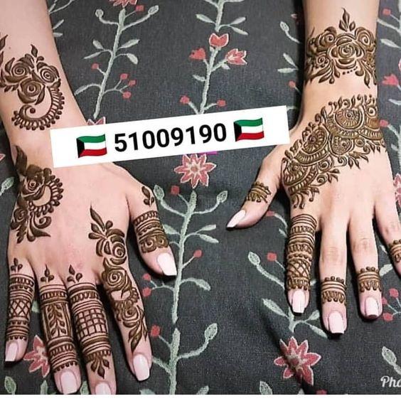 الحناء تسنيم للحناء في شهر رمضان و قرقعان استقبلي الشهر الفضيل مع اجمل نقوش الحناء نقوش حناءعلى شكل هلال و نجمة Hand Henna Henna Designs Henna Hand Tattoo