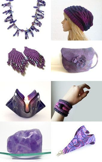 The Purple Goddess by Mel on Etsy--Pinned with TreasuryPin.com