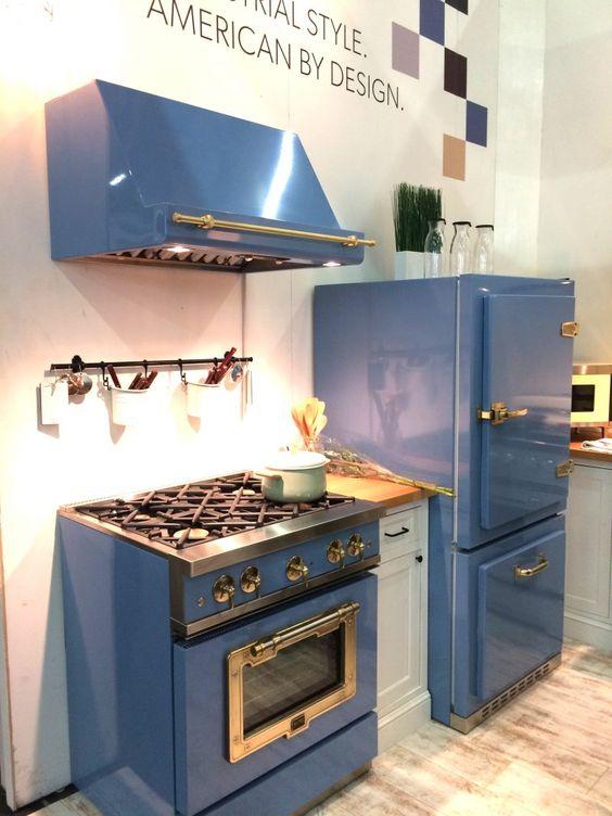 Der Bosch Retro Kühlschrank gibt Ihrer Küche einen charmanten - team 7 küche gebraucht