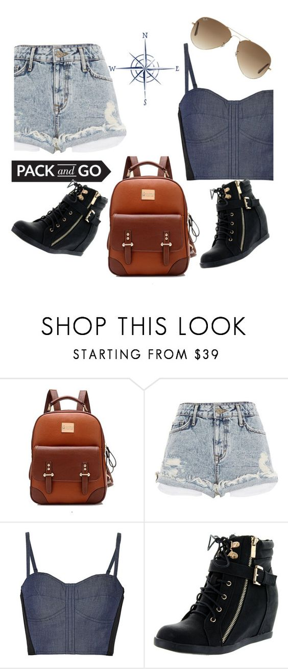"""""""Rio de Janeiro"""" by alueinwonderland on Polyvore featuring River Island, Rebecca Minkoff, Top Moda and Ray-Ban"""