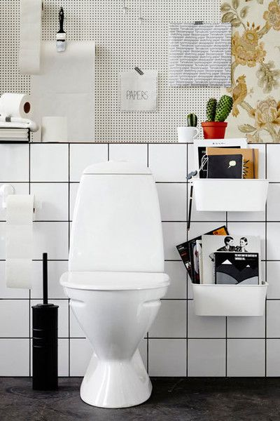 Toilet Papers - The Best IKEA Bathroom Hacks From Pinterest - Photos