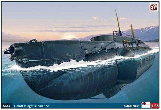 Midget submarine british