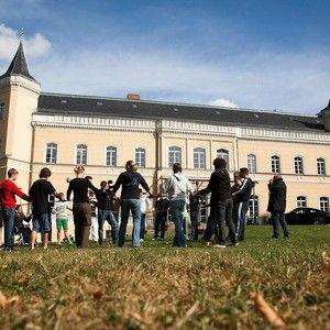 Schloss Kröchlendorff - Foto Anja Mey 2001 war dieses Schloss Schauplatz unseres Outdoorseminars der Dresdner Bank, was ich nie vergessen werde