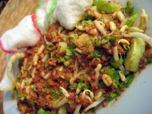 Resep4blogspotcom Resep Karedok Sunda Enak Spesial Masakan Dgn Bahan Aneka Lalapan Kacang Panjang Leunca Cara Membuat Nya Kh Resep Masakan Resep Masakan