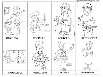 Profesiónes - Ocupaciónes - Professions - Jobs