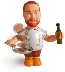 Mario batali, Action figures and Mario on Pinterest