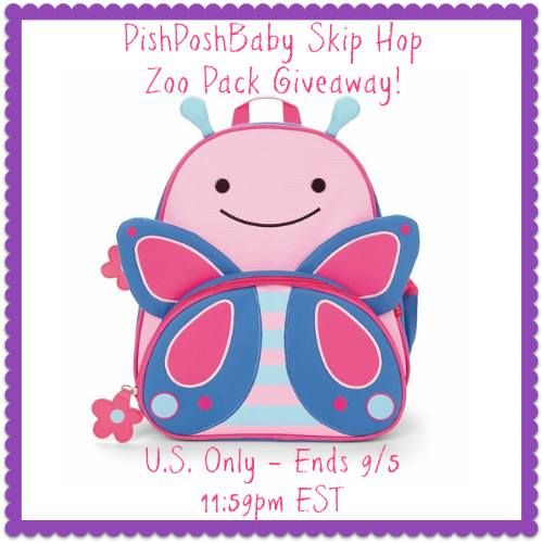 PishPoshBaby Skip Hop Zoo Pack  Giveaway Aug 25-Sept 5, 2014 via @discoverSelf