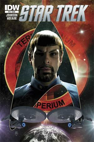 Evil Spock! Check out this week's Star Trek #15 out this Wednesday!