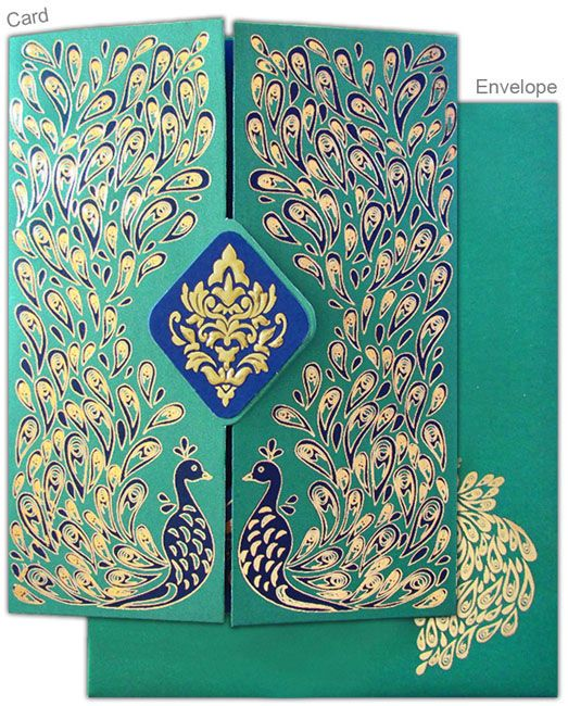 This Stylish Invitation Card Is Made From High Satin Cloth And Metallic  Board Of Fine Quality. Card Front Is Covered With Designer Imprints, Beautiu2026