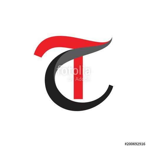 Tc Letter Logo Stock Image And Royalty Free Vector Files On Fotolia Letter Logo Monogram Logo Design Logo Design