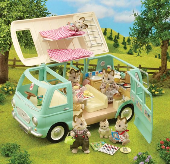 Sylvanian Family   *BRAND NEW* CAMPERVAN: