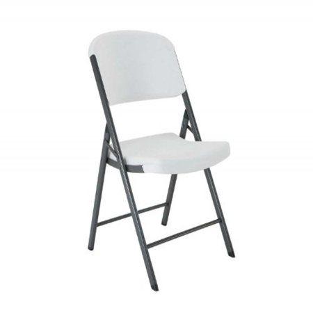 Lifetime Classic Commercial Folding Chair White Granite 22804