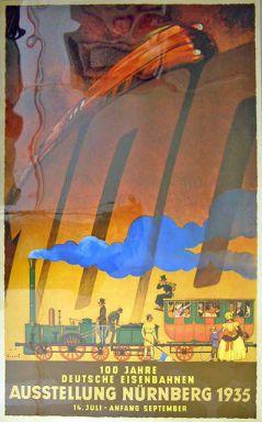100 Jahre Deutsche Eisenbahnen - Austellung Nurnberg 1935