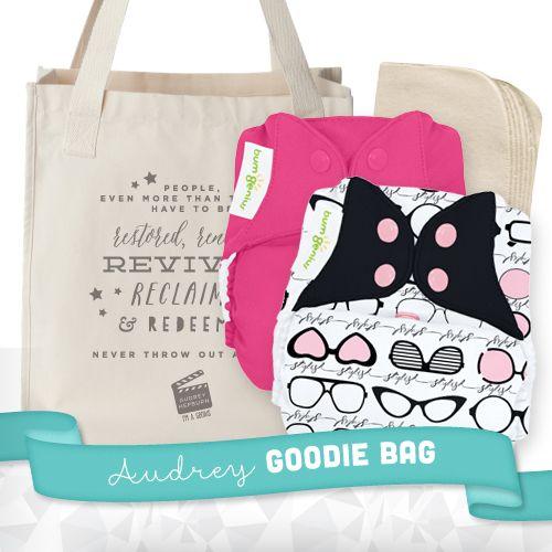 LIMITED EDITION bumGenius Freetime Genius Series - Audrey + Goodie Bag - bumGenius - Cotton #cottonbabies