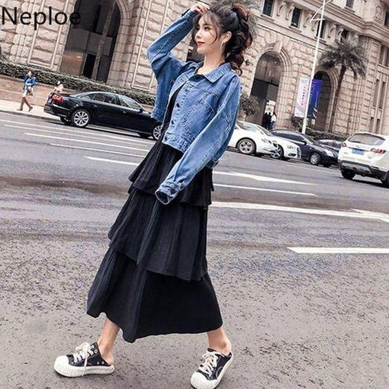 Women Basic Coat Denim Jacket Autumn Winter Jeans Jacket 2019 Fashion Woman Clothes Loose Casual Short Jackets