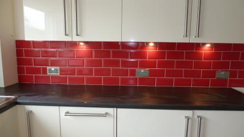 Red Brick Kitchen Wall Tiles Google Search Gaz