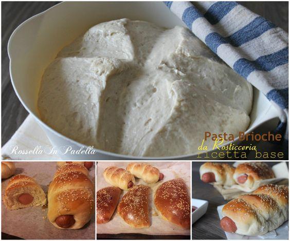 Pasta+brioche+da+rosticceria+-+ricetta+basengredienti (per circa 50 pezzi piccola rosticceria):  600 gr di farina 00 400 gr di farina manitoba 50 gr di lievito di birra (2 cubetti) NB: Se avete tempo e raddoppiate il tempo di lievitazione, potrete usarne anche solo 1 cubetto 500 ml di acqua 100 gr di strutto 80 gr di zucchero 20 gr di sale