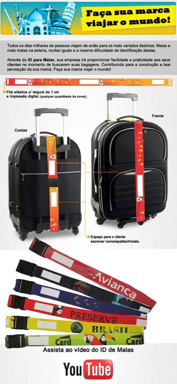 Faça a sua marca viajar pelo mundo!