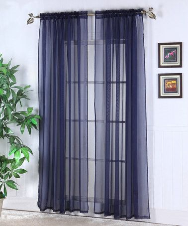 Navy Blue Sheer Curtain Panels Curtain Menzilperde Net