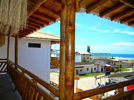 Hoteles de Olon - Google+. Hostal La Mariposa. #Olon #playas #Ecuador #g+