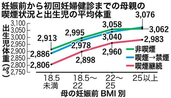 妊婦喫煙で低体重児1.4倍 痩せた人もリスク - 琉球新報 - 沖縄の新聞、地域のニュース