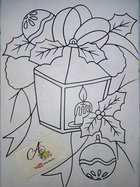 Pin De Lety De Em Dibujos2 Pintura De Natal Arte Natal