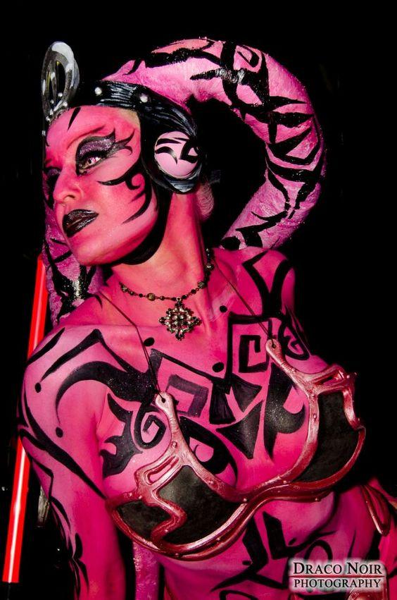 Body paint star wars